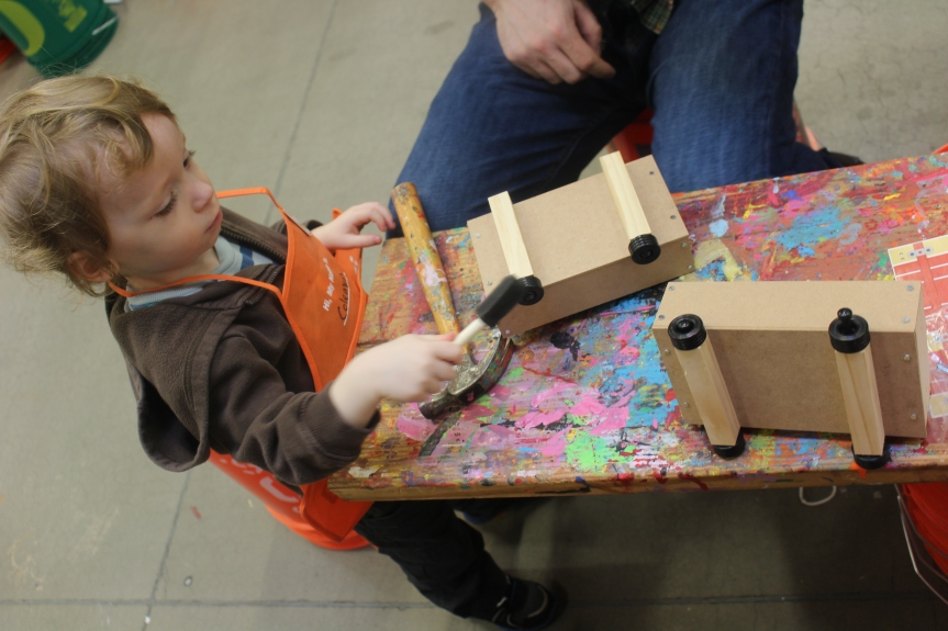 Featured Event: Free Workshops for Kids at Home Depot