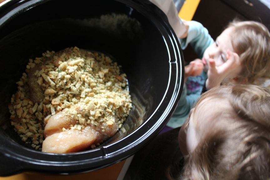Cooking With Kids: Crock Pot Chicken andStuffing