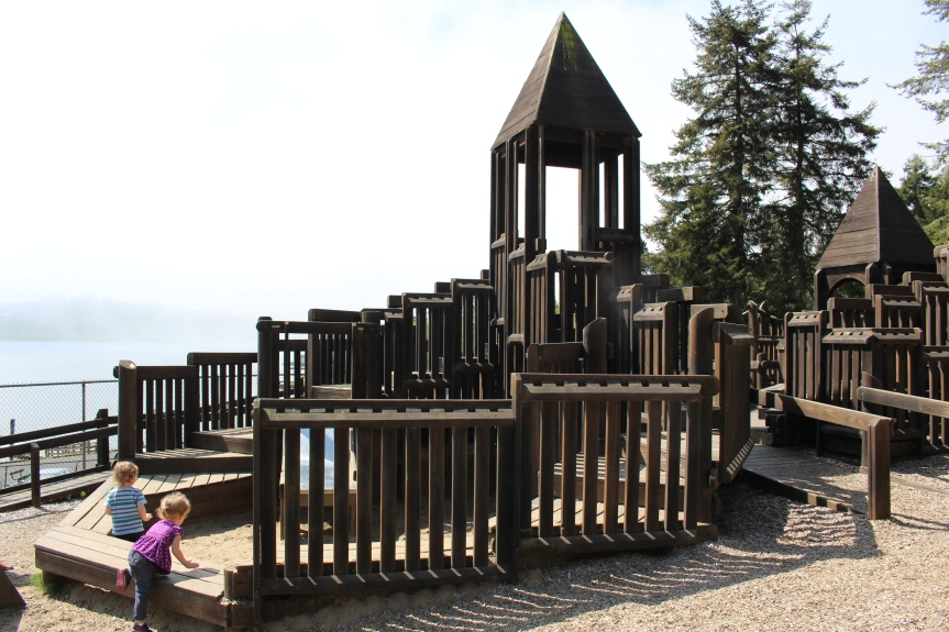 Day Trip: Sandcastle Playground at Regatta Park- Lincoln City