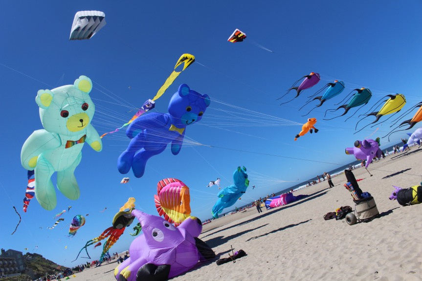 Fairs and Festivals: The Summer Kite Festival in LincolnCity